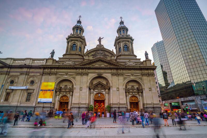 Séjour lingusitique Chili, Santiago de Chile - Plaza de las Armas