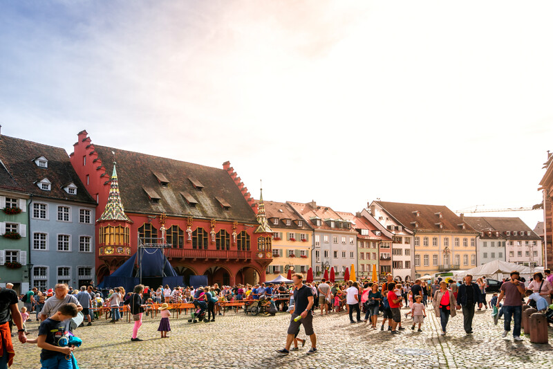 Séjour linguistique Allemand, Freiburg im breisgau - Münsterplatz