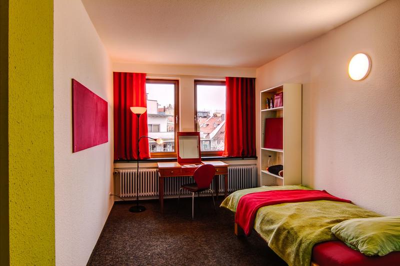 Sprachaufenthalt Deutschland, Lindau im Bodensee - Dialoge Lindau - Accommodation - Hotel Inselhostel - Zimmer