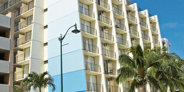 Sprachaufenthalt USA, Hawaii - IIE - Accommodation - Bamboo Apartment - Gebäude