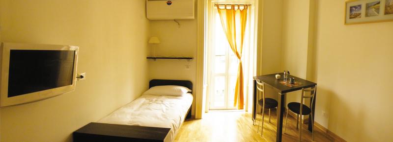 Sprachaufenthalt Italien - Triest - Piccola Univers Itàitaliana Trieste - Accommodation - Residenz - Einzelzimmer