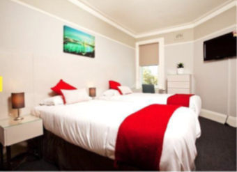 Sprachaufenthalt Australien, Sydney - Langports Sydney - Accommodation - Surry Hills Lodge - Schlafzimmer