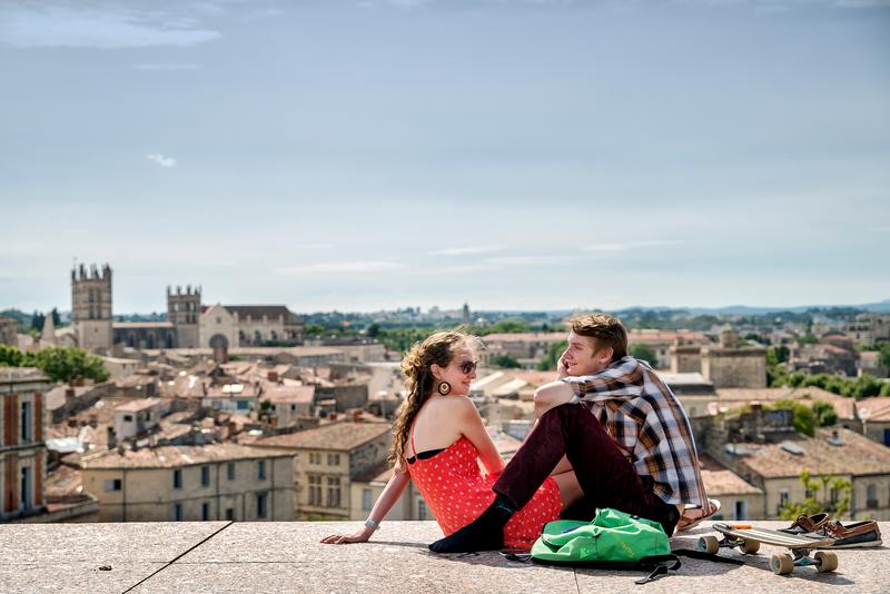 Sprachaufenthalt Frankreich, Montpellier - Panorama