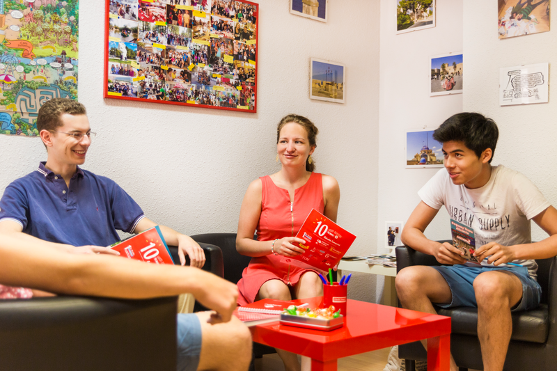 Sprachaufenthalt Spanien, Alicante - Estudio Sampere Alicante - Lounge