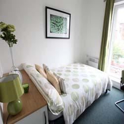 Séjour linguistique Angleterre - Manchester - EC Manchester - Logement - Riverside House Residence - Chambre à coucher