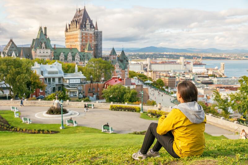Sprachaufenthalt Kanada, Quebec - Schloss Frontenac