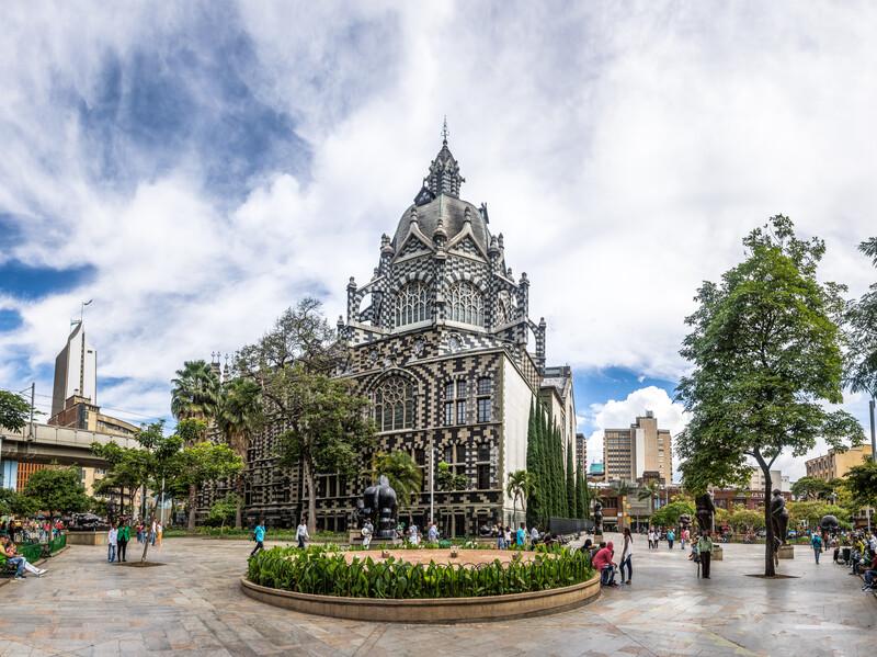 Séjour linguistique Colombie, Medellin - Palace of Culture