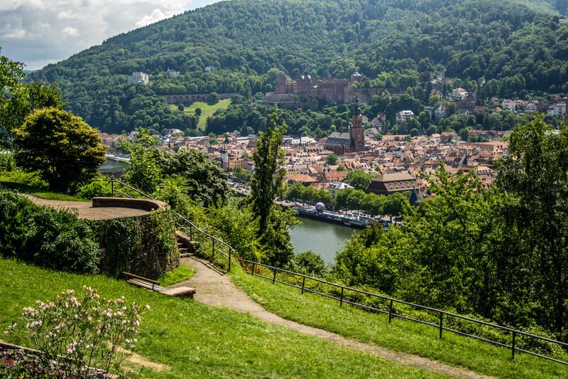Sprachaufenthalt Deutschland, Heidelberg - Philosophenweg