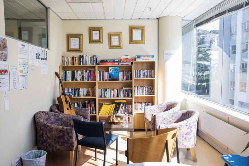 Séjour linguistique Nouvelle Zélande, Wellington - NZLC Wellington – Lounge