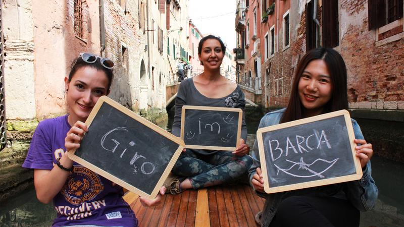 Sprachaufenthalt Italien - Venedig - Istituto Venezia - Studenten