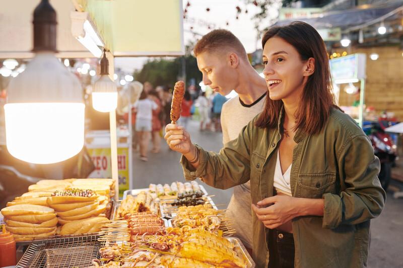 Séjour linguistique Australie, Streetfood