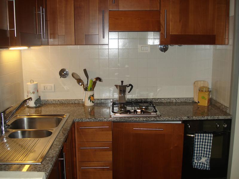 Sprachaufenthalt Italien, Florenz - Scuola Leonardo da Vinci Firenze - Accommodation - Apartment - Küche