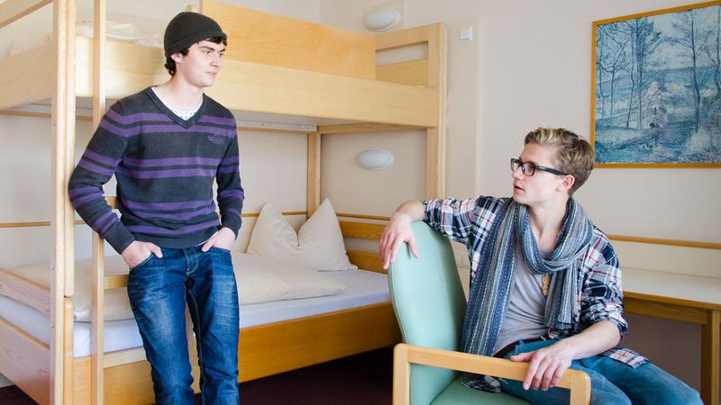 Sprachaufenthalt Deutschland, Bad Schussenried - Humboldt Institut Bad Schussenried - Accommodation - Schlafzimmer