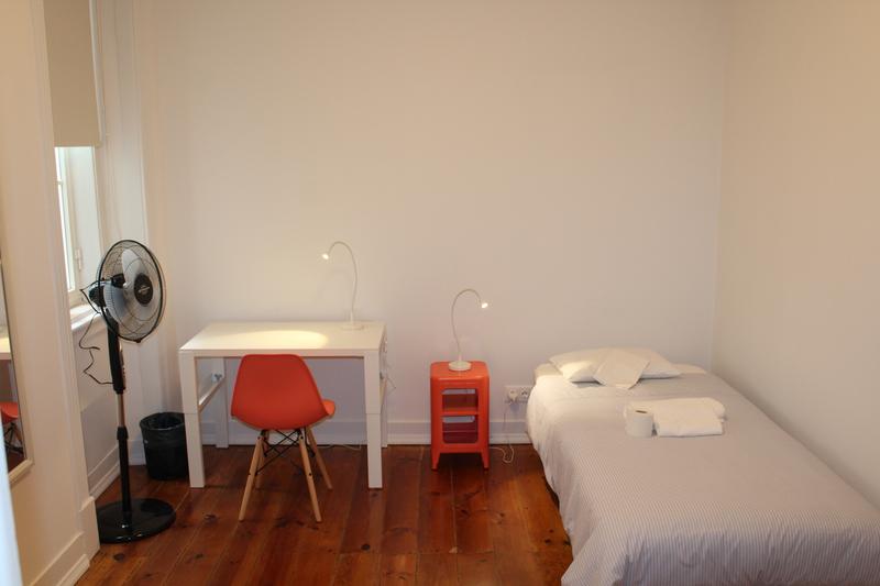 Sprachaufenthalt Portugal, Lissabon - CIAL Lisboa - Accommodation - CIAL Shared Apartment Lisboa - Einzelzimmer
