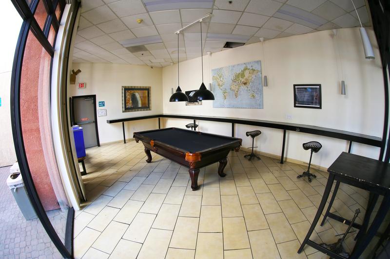 Sprachaufenthalt USA, San Diego - CEL San Diego - Accommodation - Residenz - Aufenthaltsraum