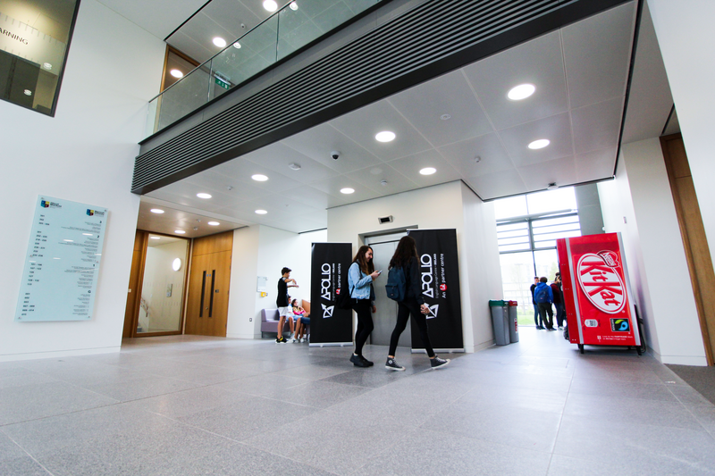 Sprachaufenthalt Irland, Dublin - Apollo Language Centre Maynooth University - Lobby
