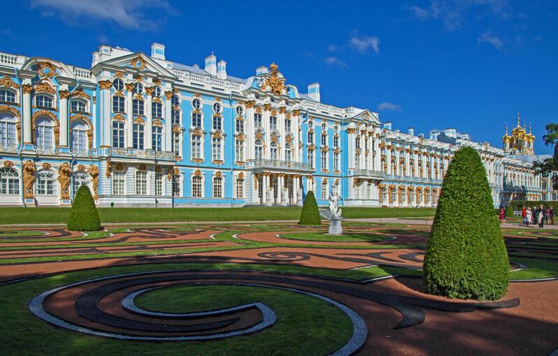 Séjour linguistique Russie, St. Petersburg - Catherine palace