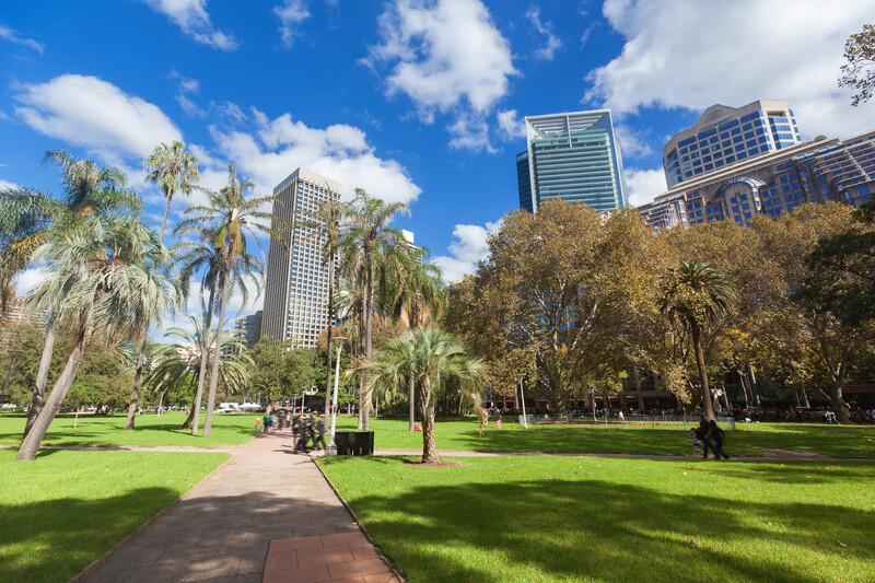 Sprachaufenthalt Australien, Sydney - Hyde Park