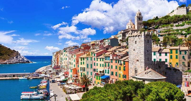 Sprachaufenthalt Italien, Viareggio - Portovenere