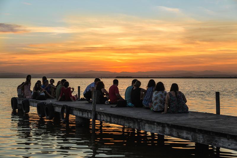 Sprachaufenthalt Spanien, Valencia - Sonnenuntergang