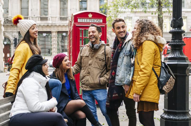 Sprachaufenthalt England, London - Freunde