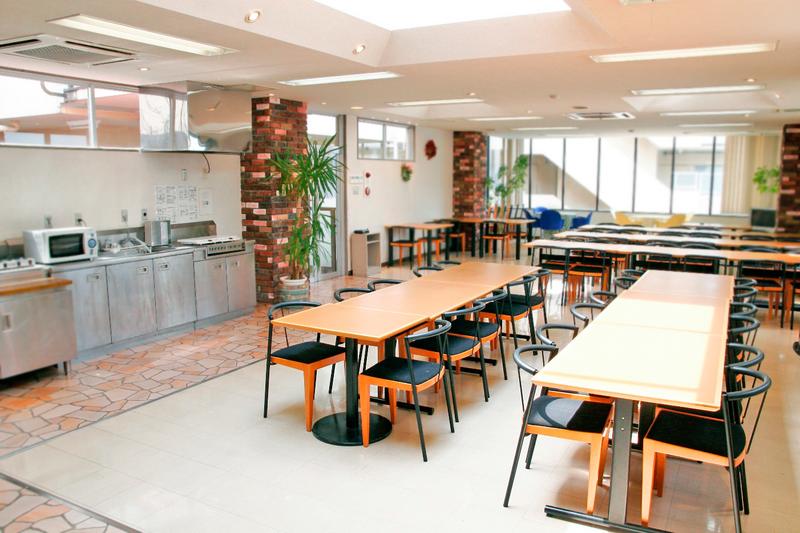 Sprachaufenthalt Japan, Fukuoka - Genki Japanese School Fukuoka - Accommodation - Residenz - Esssaal