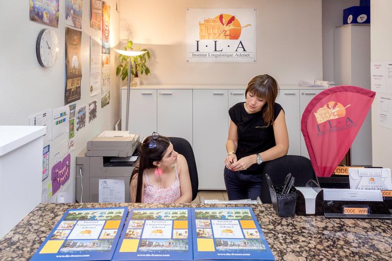 Sprachaufenthalt Frankreich, Montpellier - ILA - Studenten