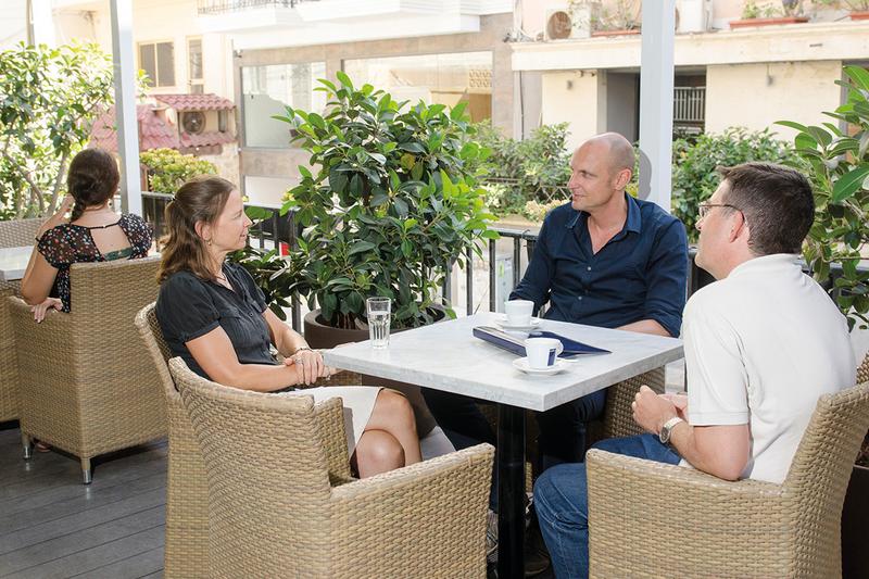 Séjour linguistique Malte, St Julians - ETI Malta – Terrasse