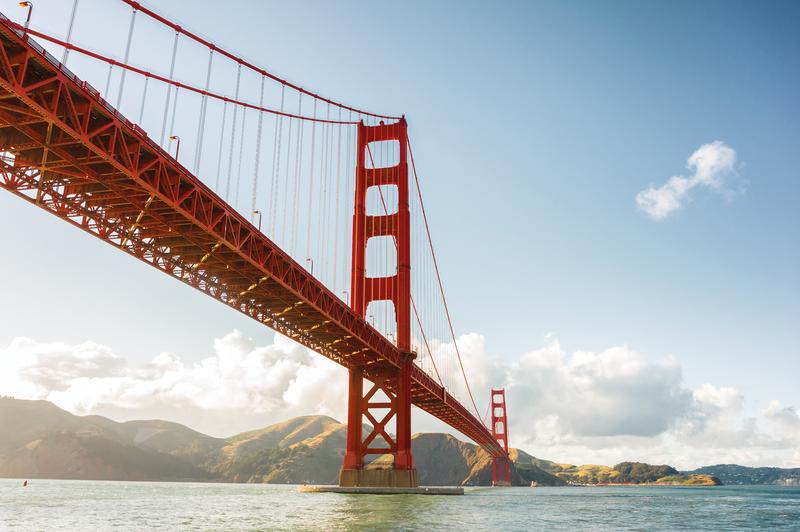 Séjour linguistique États-Unis, San Francisco - Golden Gate Bridge