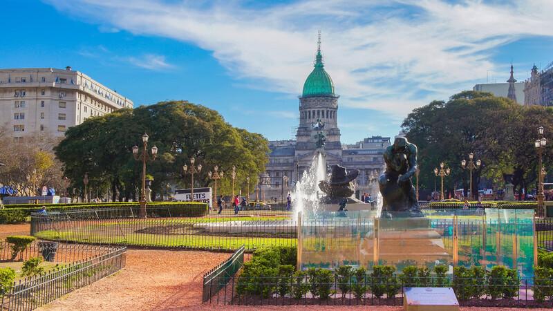 Séjour linguistique Argentine, Buenos Aires - National Congress Plaza