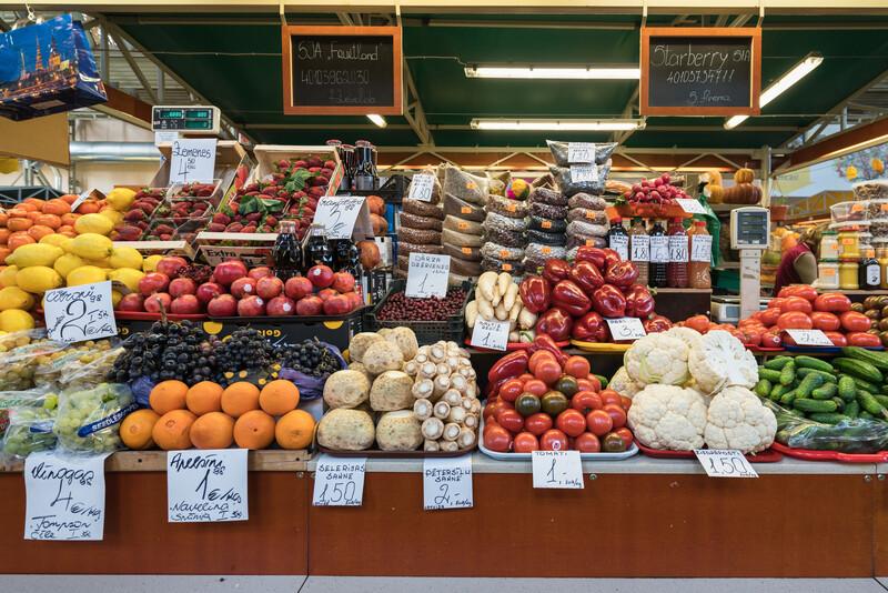 Sprachaufenthalt Lettland, Riga – Lidendenz - Markt