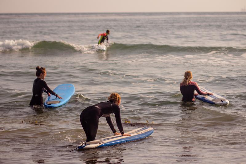 Sprachaufenthalt Spanien, Teneriffa - Surfen