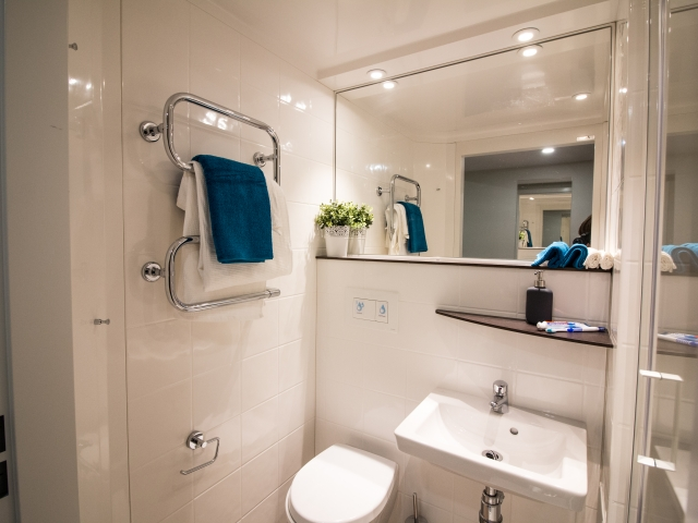 Sprachaufenthalt Irland, Dublin - EC - Accommodation - LIV Residence - Badezimmer
