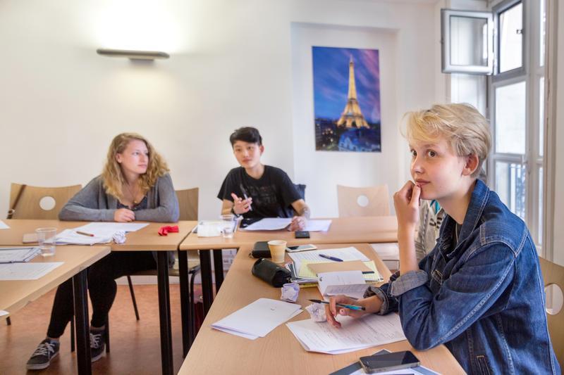 Séjour linguistique France, Paris - E.L.F.E. Paris - Leçons