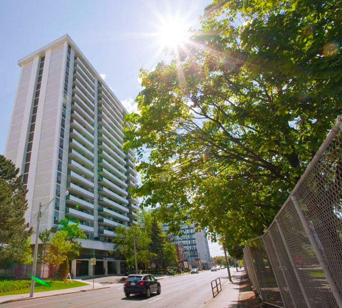 Sprachaufenthalt Kanada, Toronto - Stafford House Toronto - Accommodation - Residenz Harrington - Gebäude