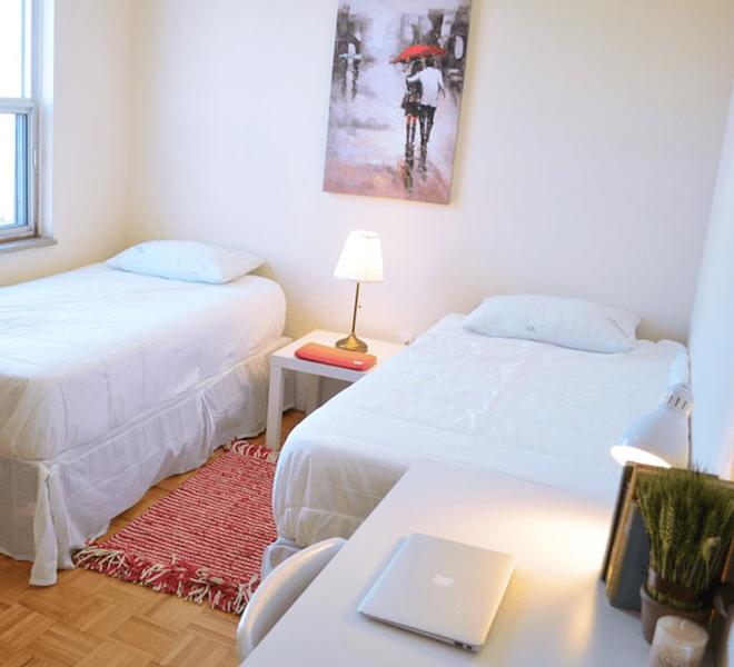 Sprachaufenthalt Kanada, Toronto - Stafford House Toronto - Accommodation - Residenz Harrington - Schlafzimmer