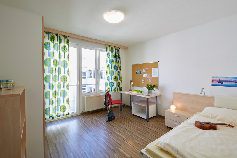 Sprachaufenthalt Deutschland, Freiburg - Goethe Institut Freiburg - Accommodation - Apartment - Einzelzimmer © Goethe-Institut/Markus Schwerer