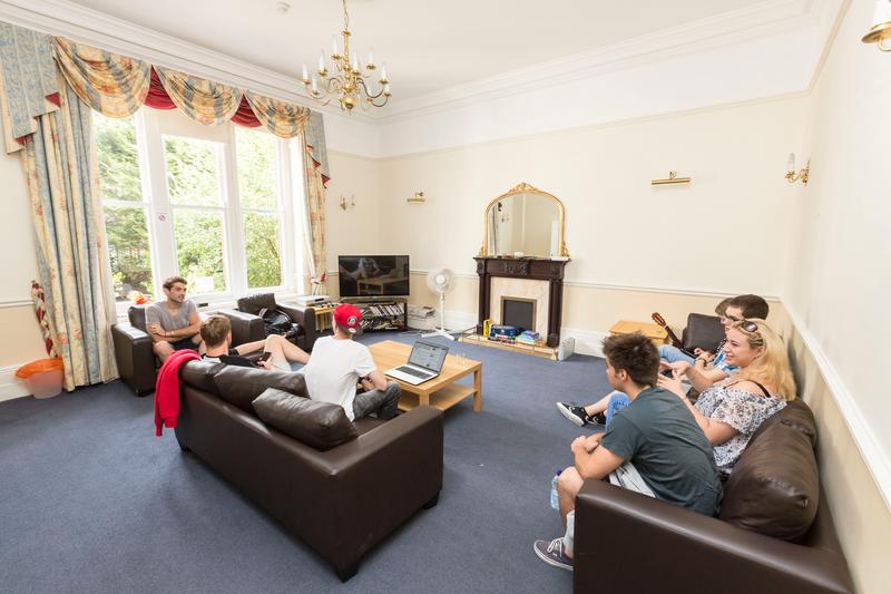 Sprachaufenthalt England, Bristol - English Language Centre ELC - Accommodation - Residenz St. John's House - Lounge
