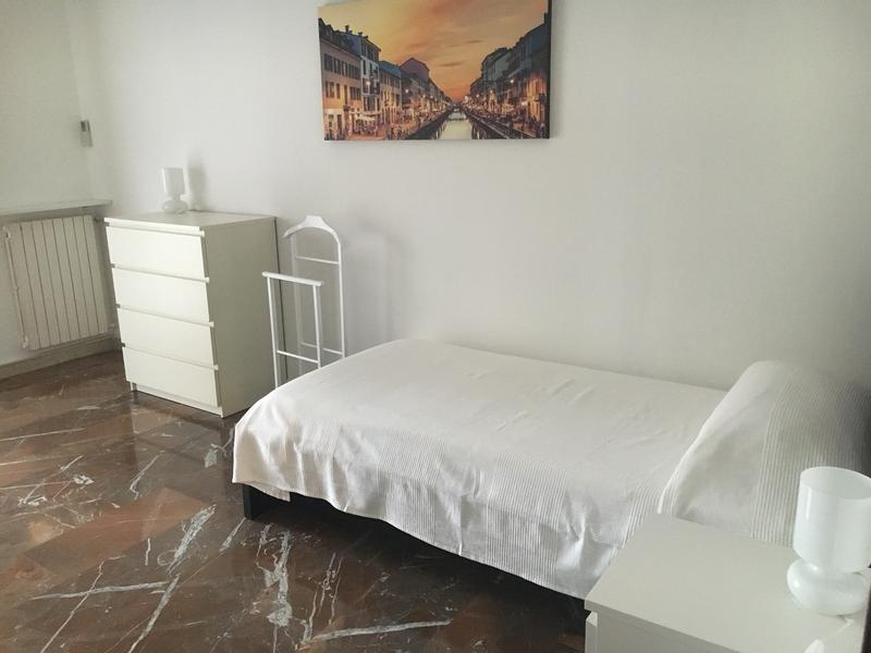 Sprachaufenthalt Italien, Milano - Scuola Leonardo da Vinci Milano - Accommodation - Apartment - Einzelzimmer