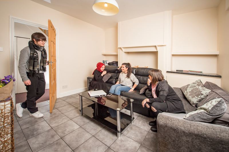 Sprachaufenthalt England, Bournemouth - BEET Language Centre Bournemouth - Accommodation - Student House - Wohnzimmer