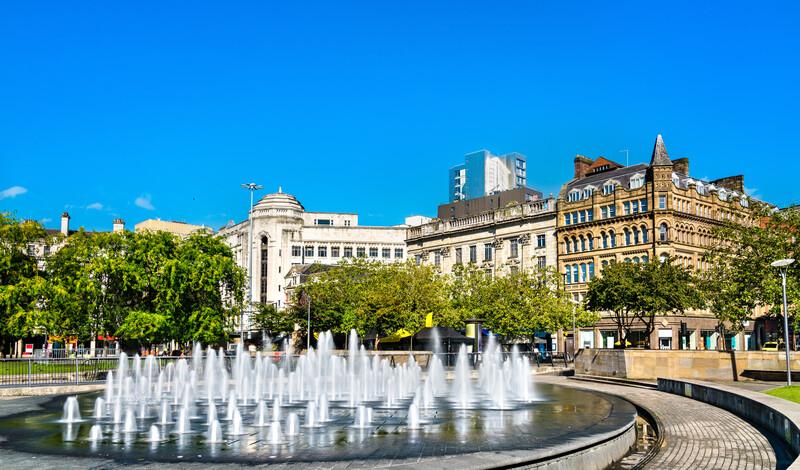 Séjour linguistique Angleterre, Manchester - EC Manchester - Piccadilly Gardens
