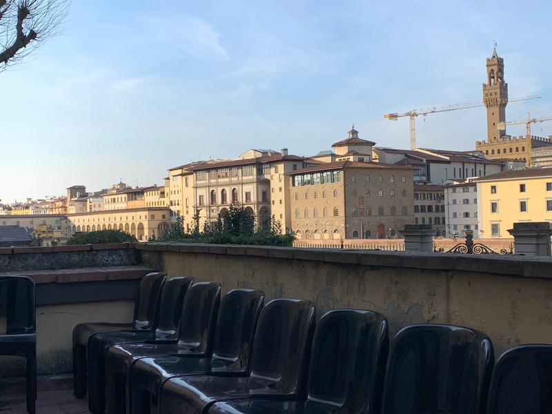 Séjour linguistique Italie, Florence - Scuola ABC Firenze - Terrasse