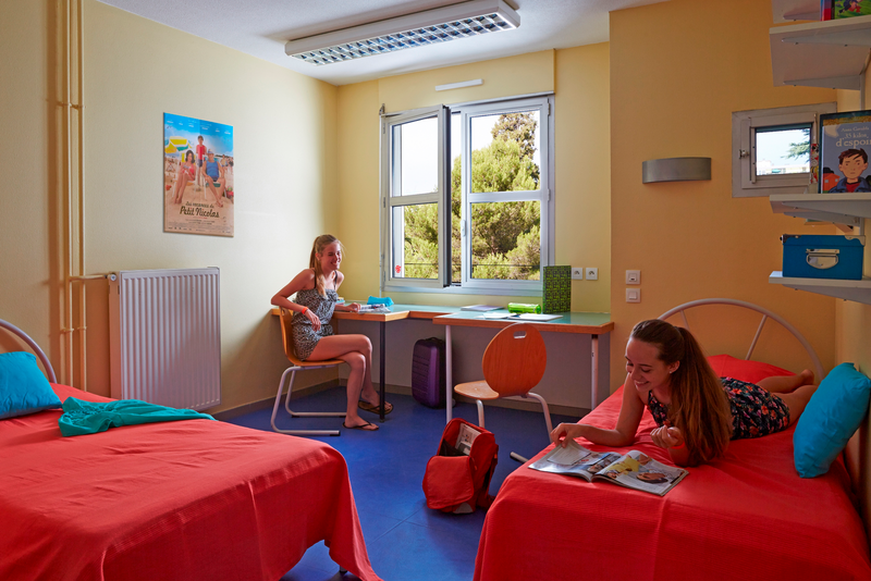 Sprachaufenthalt Frankreich, Cannes - Centre International d'Antibes Summercamp Cannes - Accommodation - Residenz - Zimmer