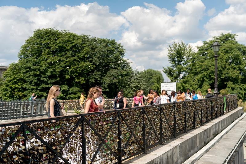 Séjour linguistique France, Paris - Excursion
