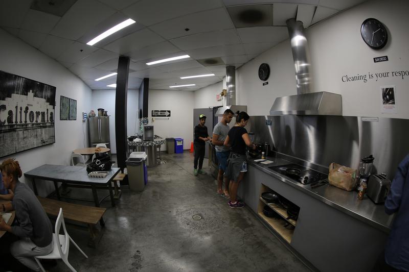 Sprachaufenthalt USA, San Diego - CEL San Diego - Accommodation - Residenz - Küche