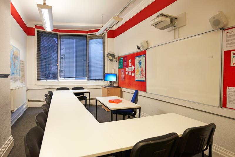 Sprachaufenthalt England, Manchester - BSC Manchester - Klassenzimmer