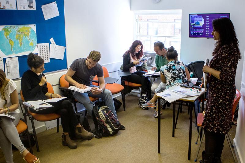Sprachaufenthalt England, Leeds - CES Leeds - Lektionen