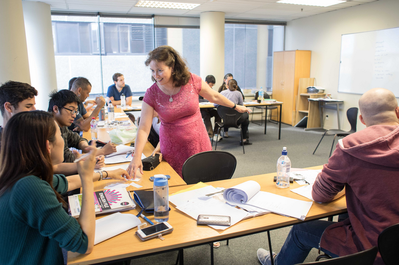Séjour linguistique Nouvelle Zélande, Wellington - NZLC Wellington – Leçon