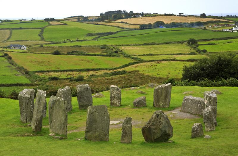 Séjour linguistique Irlande, Cork - Cercle de pierres de drombeg