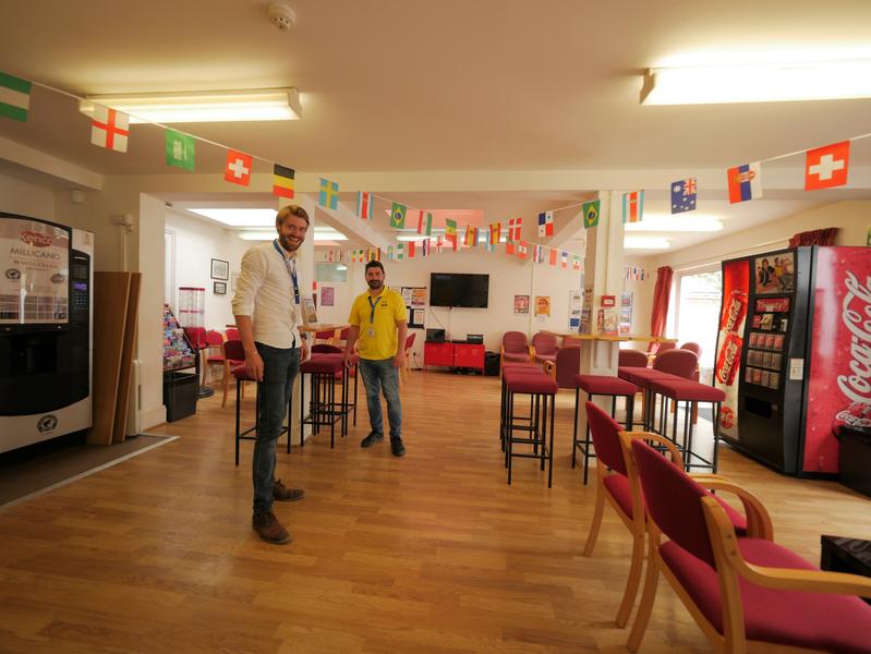 Sprachaufenthalt England, Worthing - CES Worthing - Aufenthaltsraum